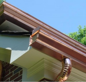 Information about copper gutters