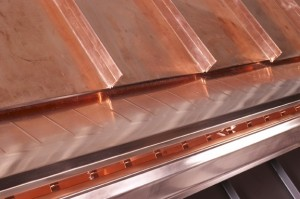 Protect copper gutters with gutter guards