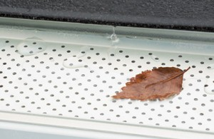 Leaf relief gutter guard description