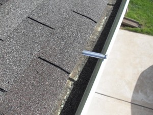 When is it really necessary to add a support when installing gutters?