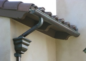 Using galvanized steel gutters has advantages