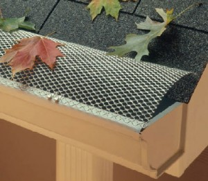Gutter cover und screens