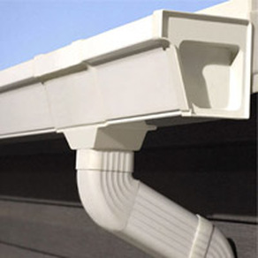What gutter guards are available for vinyl gutters?