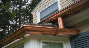 Installing copper gutters can bring advantages and disadvantages