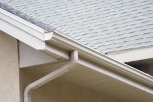 Instructions for attaching a downspout to K-style gutters