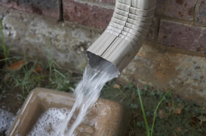 Learn to unclog the downspout of your guttering system