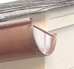 Learn to install gutter end caps made of aluminum