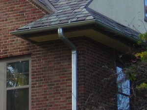 Instructions for cutting angles on a seamless gutter