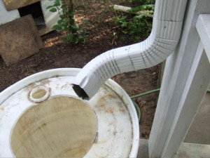 Instructions for attaching downspouts