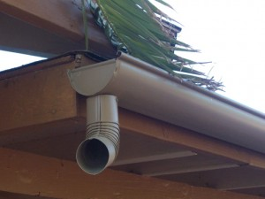 Instructions for installing rain gutters