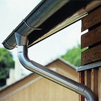 Cutting tips for steel gutters
