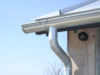 Instructions for installing aluminum gutters