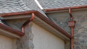 Instructions for building your own metal gutters