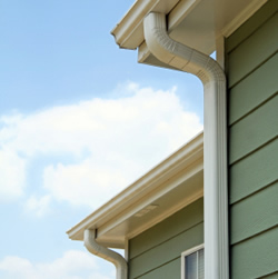 Accessories and downspout configuration