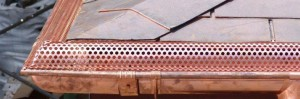Instructions for installing copper gutter guards