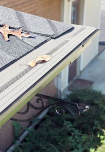 Instructions for installing aluminum gutter guards