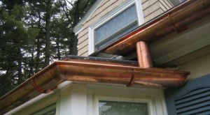 The difference between steel gutters and copper gutters