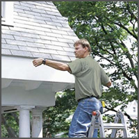 Instructions for measuring new gutters