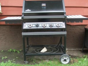 Learn to change the barbeque from natural gas fueling to propane
