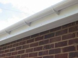 PVC rain gutters as a solution instead of metal