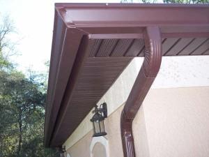 Anleitung für den bau nahtlosen dachrinnen