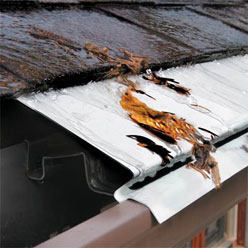 Learn to set up covers on rain gutters