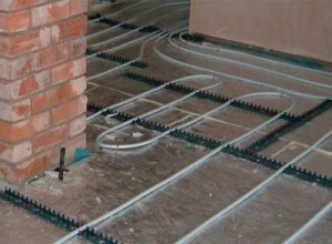 Basic information about electric underfloor heating and pipe hot water underfloor heating