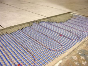 Floor heating can cause trouble