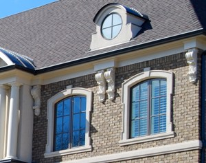 Learn about exterior corbels and brackets