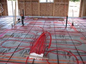 Instructions for connecting in-floor radiant heating systems