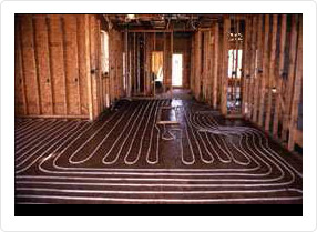 The right choice – floor radiant heating