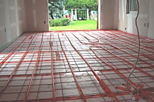 Instructions about designing a radiant floor heating system