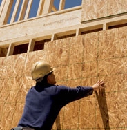 Information on wall sheathing