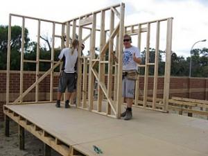 Leer om een deur in een stud muur te bouwen - deel 2