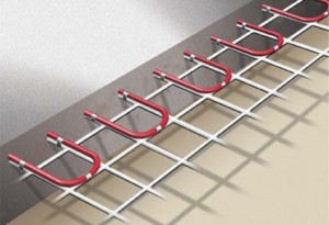 Lean to install in-floor heating