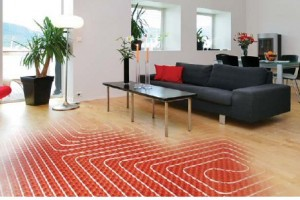 Instructies voor het omzetten van warm water plint aan vloerverwarming