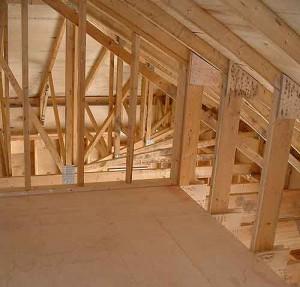 Imparare a costruire una parete divisoria ginocchio - Parte 3