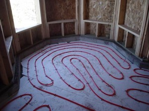 Installation steps for radiant floor heating