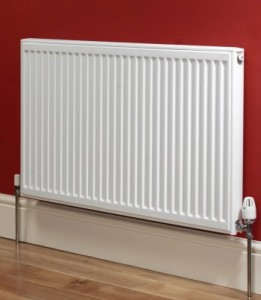 Heating a house needs radiators