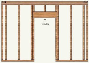 Learn to build a doorway in a stud wall – part 1