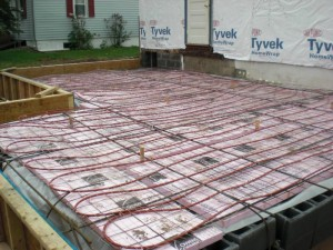 Different radiant floor heating products