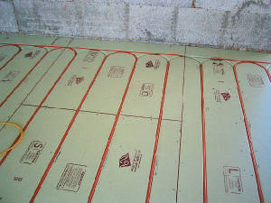 How to install one zone radiant floor heating