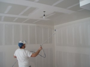 Learn to apply drywall