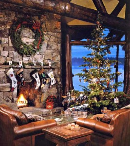 Algunas ideas sobre la rústica decoración navideña