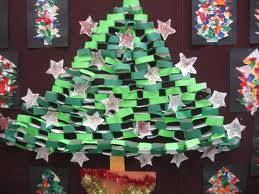 Making a paper Christmas tree