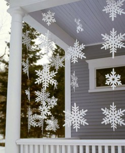 Alcune idee di decorare il vostro patio per Natale