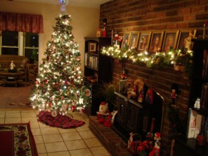 Some decorating tips for the living room for Christmas