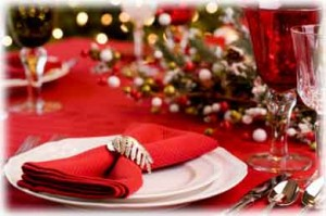 Learn to decorate the Christmas table