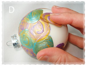 Learn To Paint Christmas Ornaments