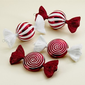 learn to create candy christmas ornaments
